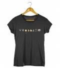 tričko s vegan motívom